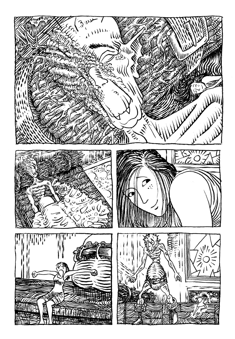 Extrait n°4 de la bd La femme de l'Ogre par Etienne Appert