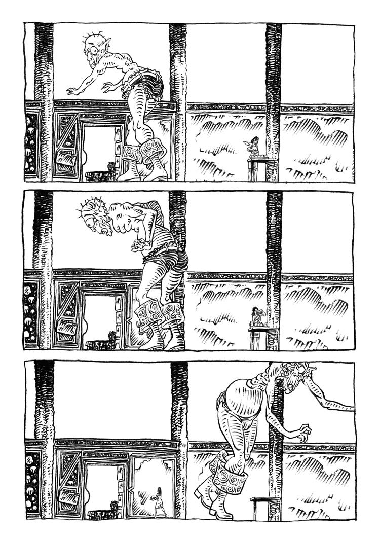 Extrait n°5 de la bd La femme de l'Ogre par Etienne Appert