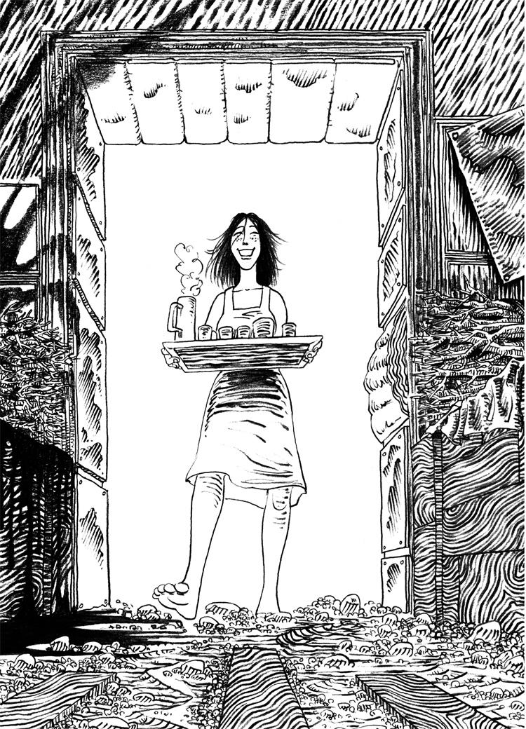 Extrait n°6 de la bd La femme de l'Ogre par Etienne Appert