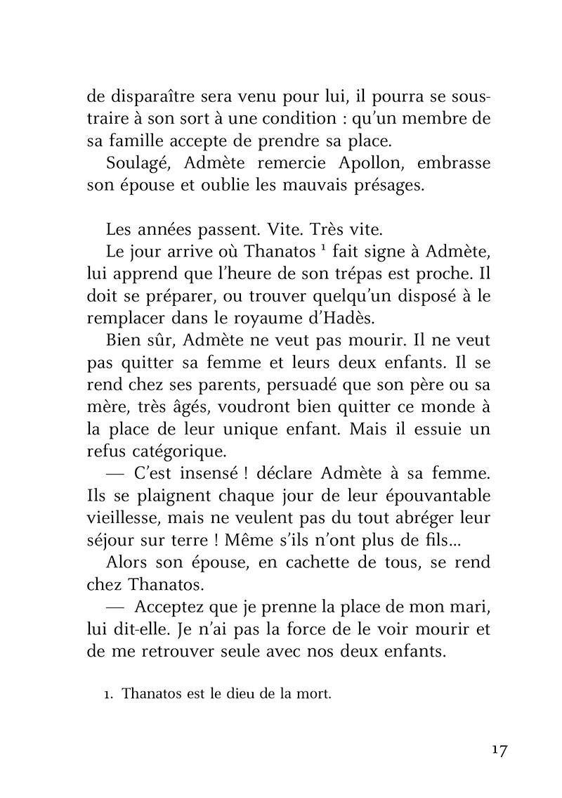 Extrait n°3 de la bd Petites Histoires de famille dans la mythologie par Brigitte Heller-Arfouillère
