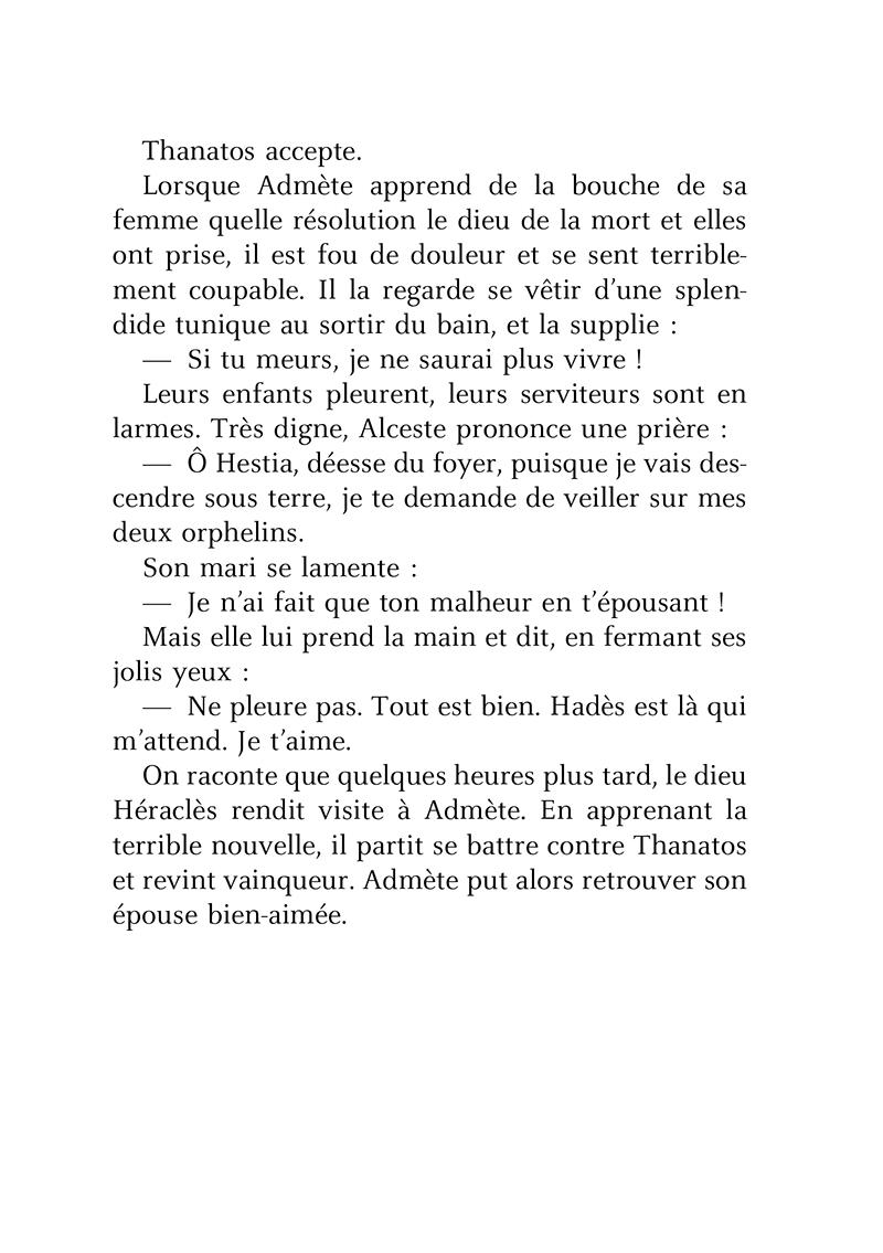 Extrait n°4 de la bd Petites Histoires de famille dans la mythologie par Brigitte Heller-Arfouillère