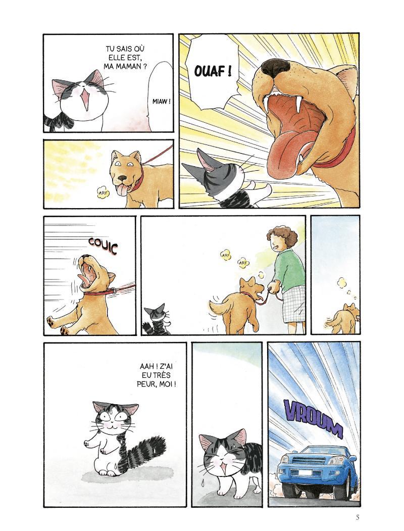 Extrait n°3 du manga tome 2 par Konami Kanata