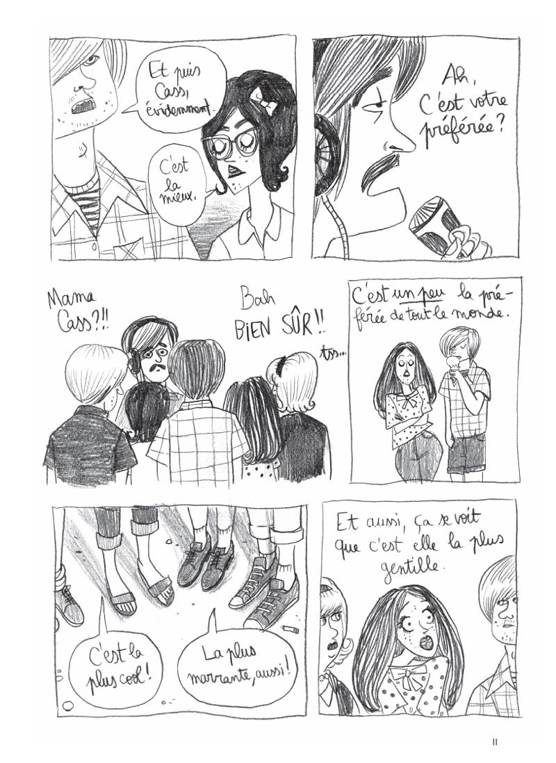 Extrait n°3 de la bd California Dreamin' par Pénélope Bagieu