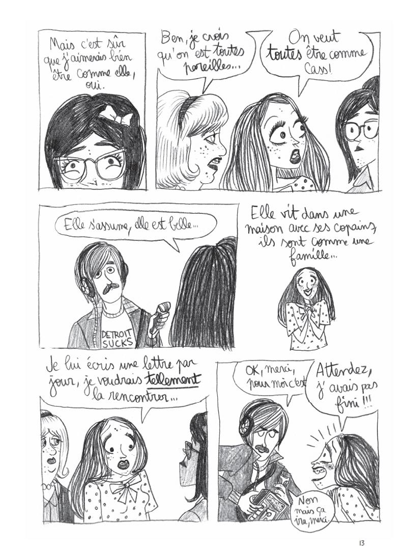 Extrait n°5 de la bd California Dreamin' par Pénélope Bagieu