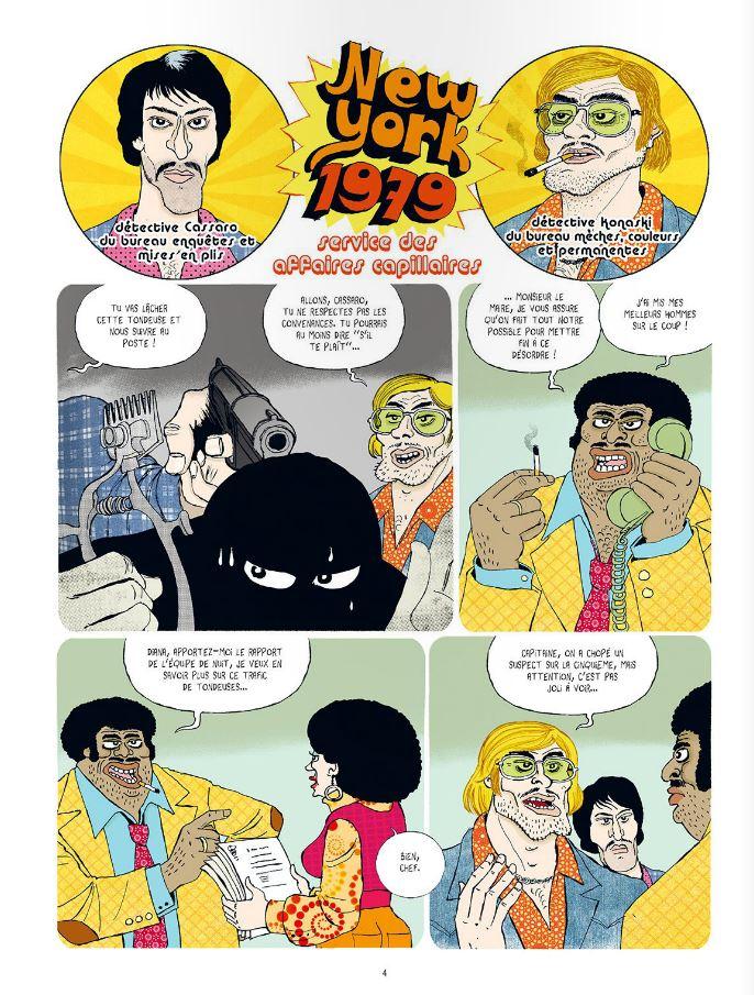 Extrait n°2 de la bd New York, 1979 par Pochep