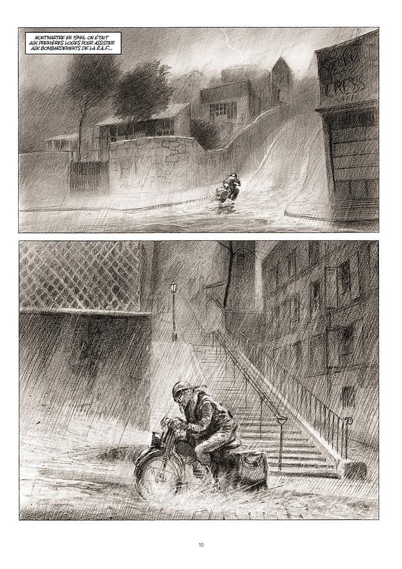 Extrait n°4 de la bd La cavale du Dr Destouches par Christophe Malavoy