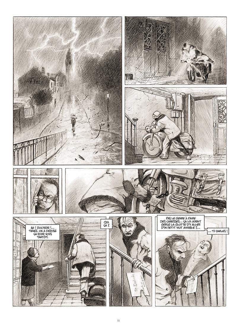 Extrait n°5 de la bd La cavale du Dr Destouches par Christophe Malavoy
