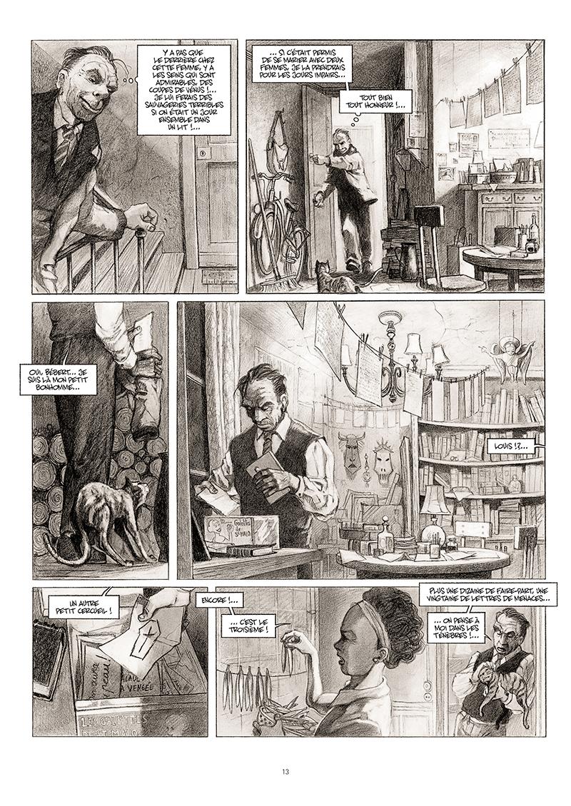 Extrait n°7 de la bd La cavale du Dr Destouches par Christophe Malavoy