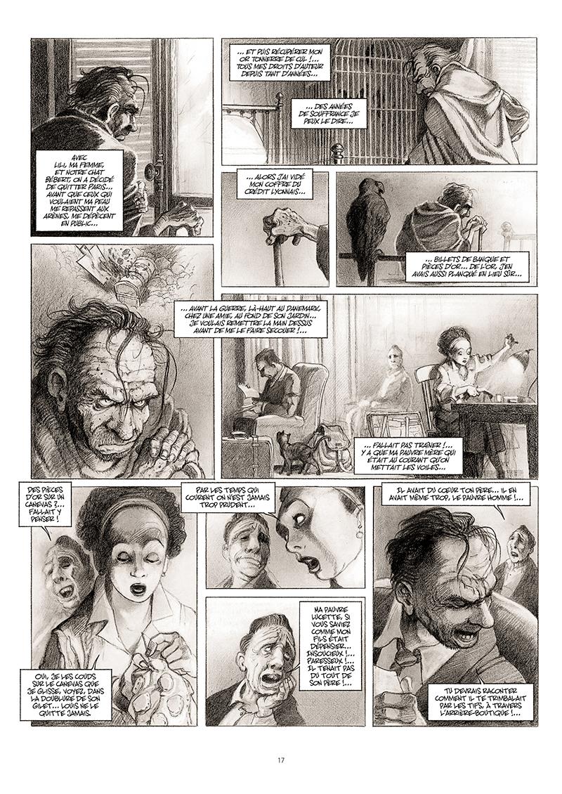 Extrait n°11 de la bd La cavale du Dr Destouches par Christophe Malavoy