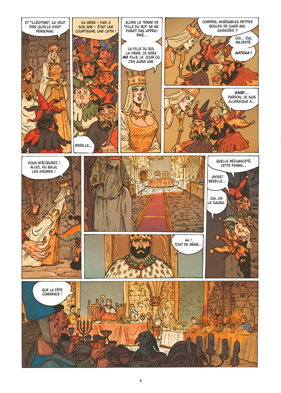 Extrait n°2 de la bd tome 1 par Wilfrid Lupano