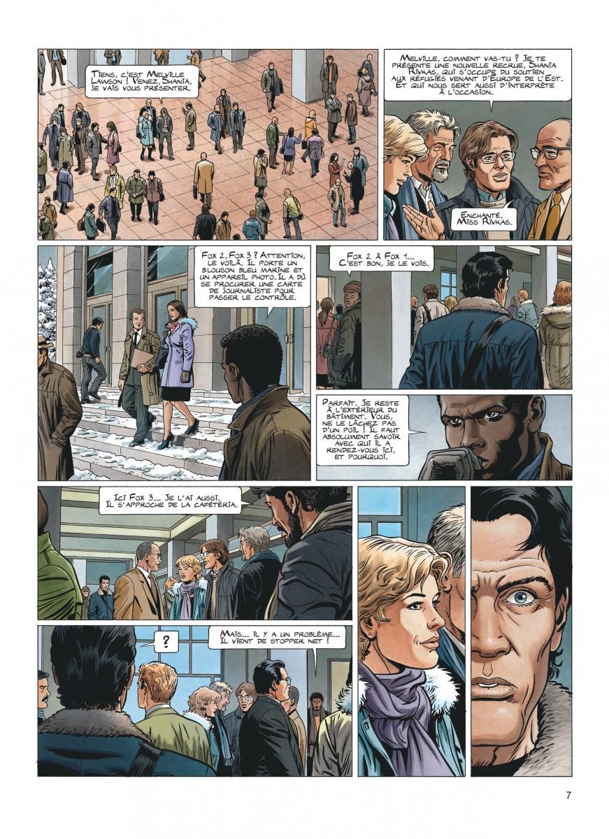 Extrait n°5 de la bd tome 11 par Philippe Aymond