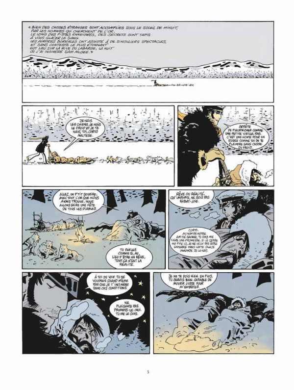 Extrait n°1 de la bd tome 13 par Juan Diaz Canales