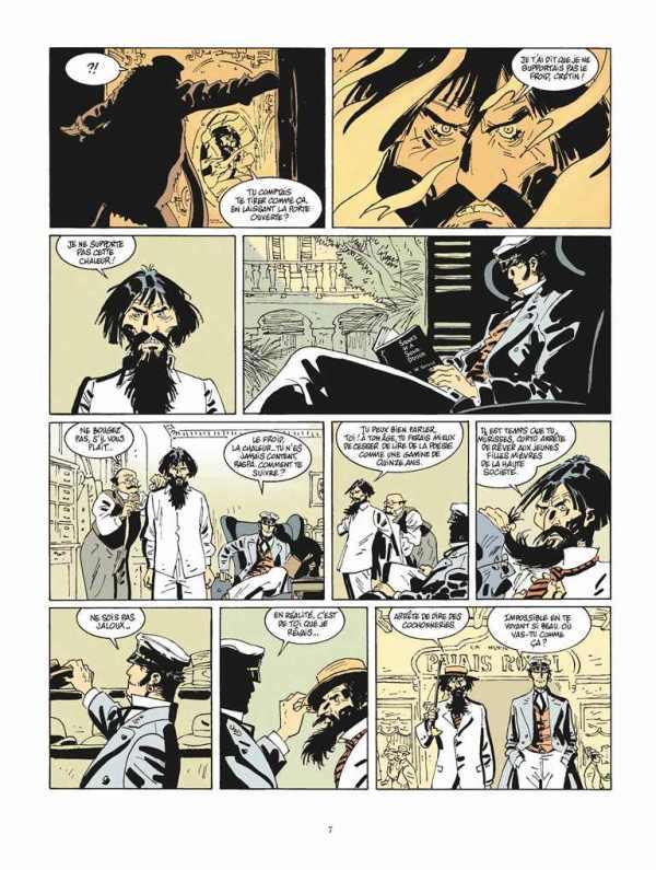 Extrait n°3 de la bd tome 13 par Juan Diaz Canales