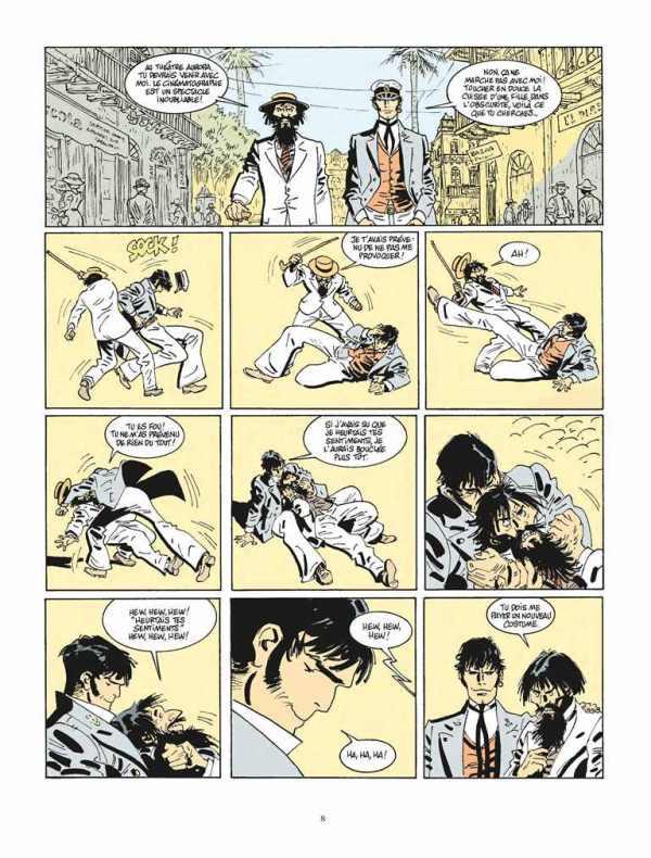 Extrait n°4 de la bd tome 13 par Juan Diaz Canales