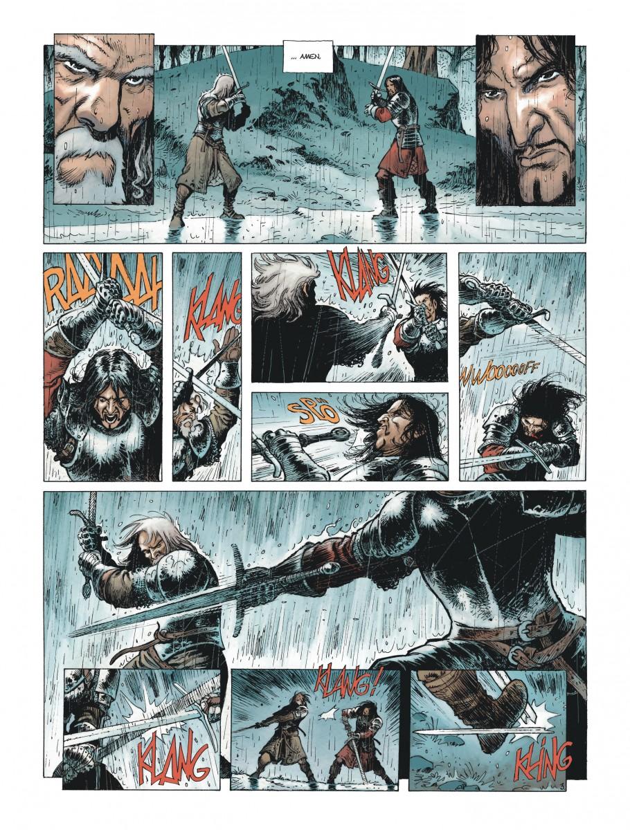 Extrait n°3 de la bd Le Maître d'armes  par Xavier Dorison