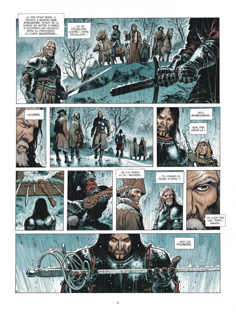 Extrait n°4 de la bd Le Maître d'armes  par Xavier Dorison