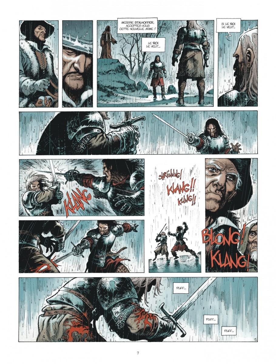 Extrait n°5 de la bd Le Maître d'armes  par Xavier Dorison