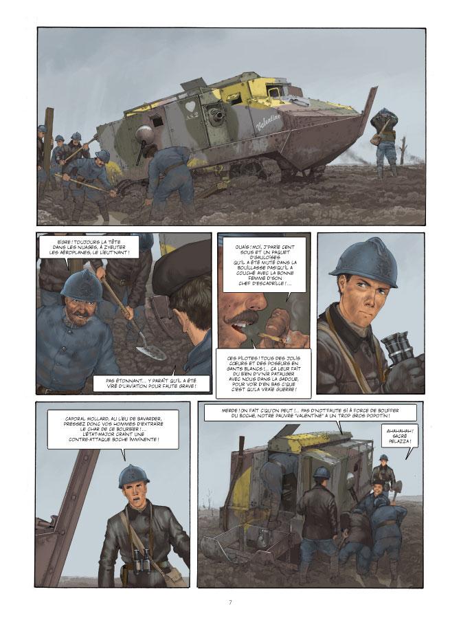 Extrait n°5 de la bd tome 1 par Yann