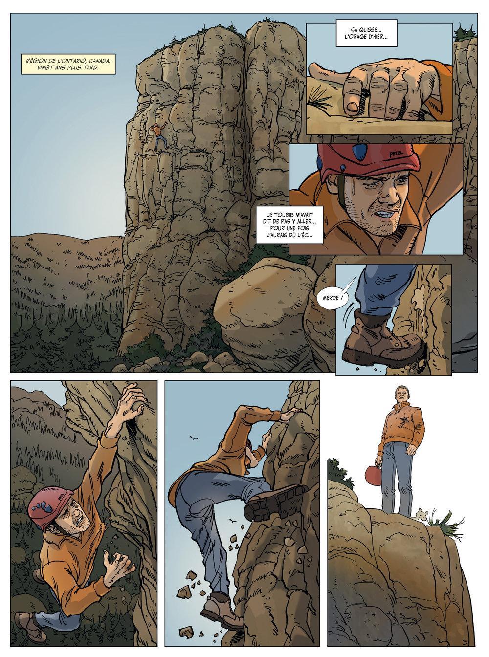 Extrait n°3 de la bd Arène des Balkans par Philippe Thirault
