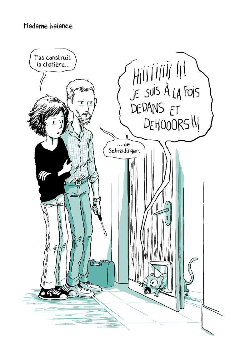 Extrait n°5 de la bd Madame, l'Année du chat par Nancy Pena