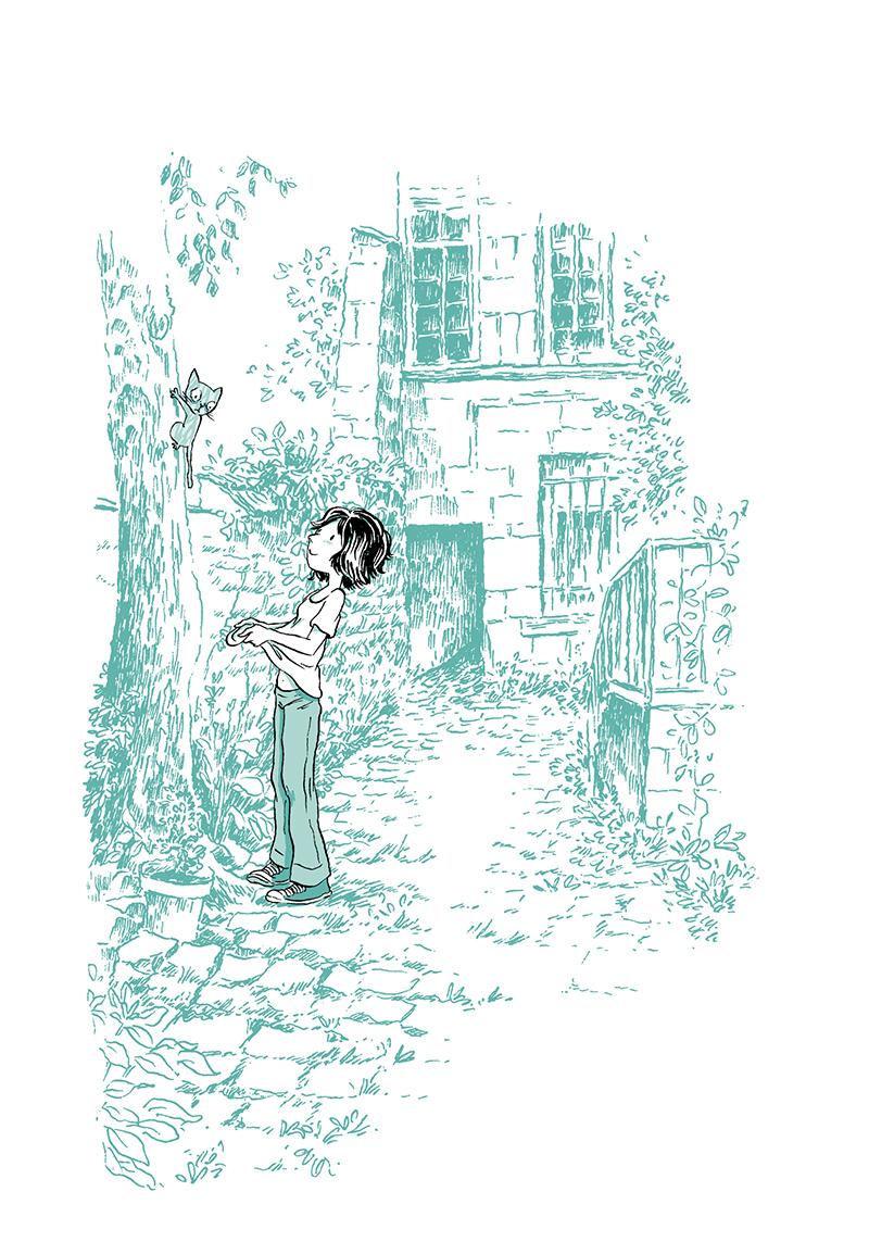 Extrait n°7 de la bd Madame, l'Année du chat par Nancy Pena