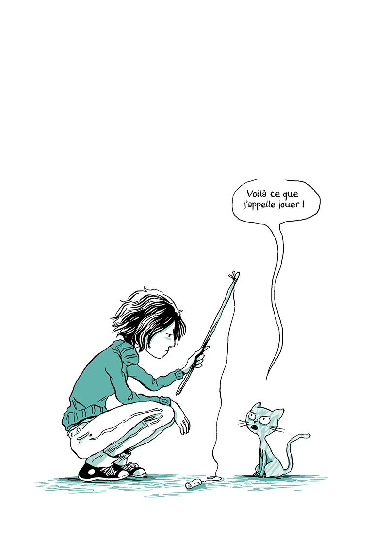 Extrait n°13 de la bd Madame, l'Année du chat par Nancy Pena