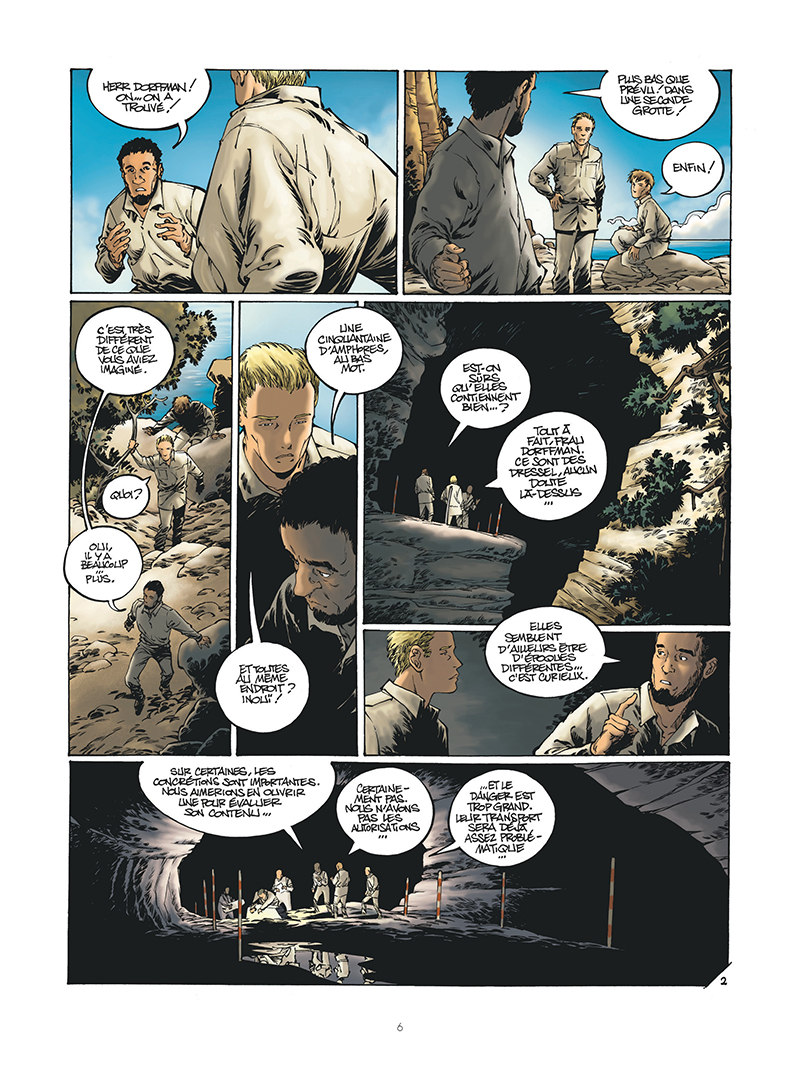 Extrait n°2 de la bd par Clarke