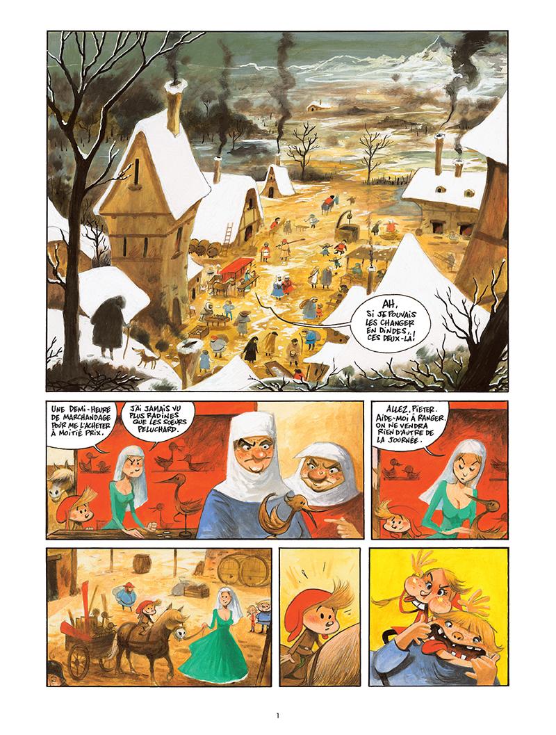 Extrait n°1 de la bd Pieter et le Lokken par Olivier Ka