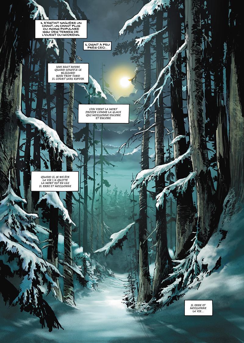 Extrait n°1 de la bd tome 11 par Jose Francisco Kyko Duarte