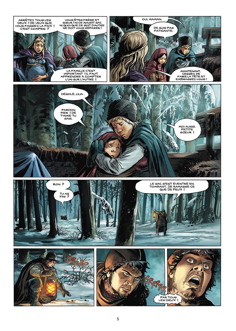 Extrait n°4 de la bd tome 11 par Jose Francisco Kyko Duarte
