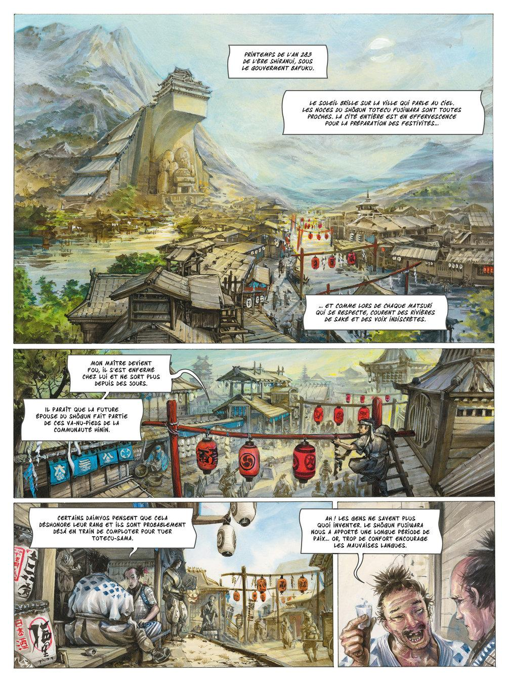Extrait n°1 de la bd tome 1 par Saverio Tenuta