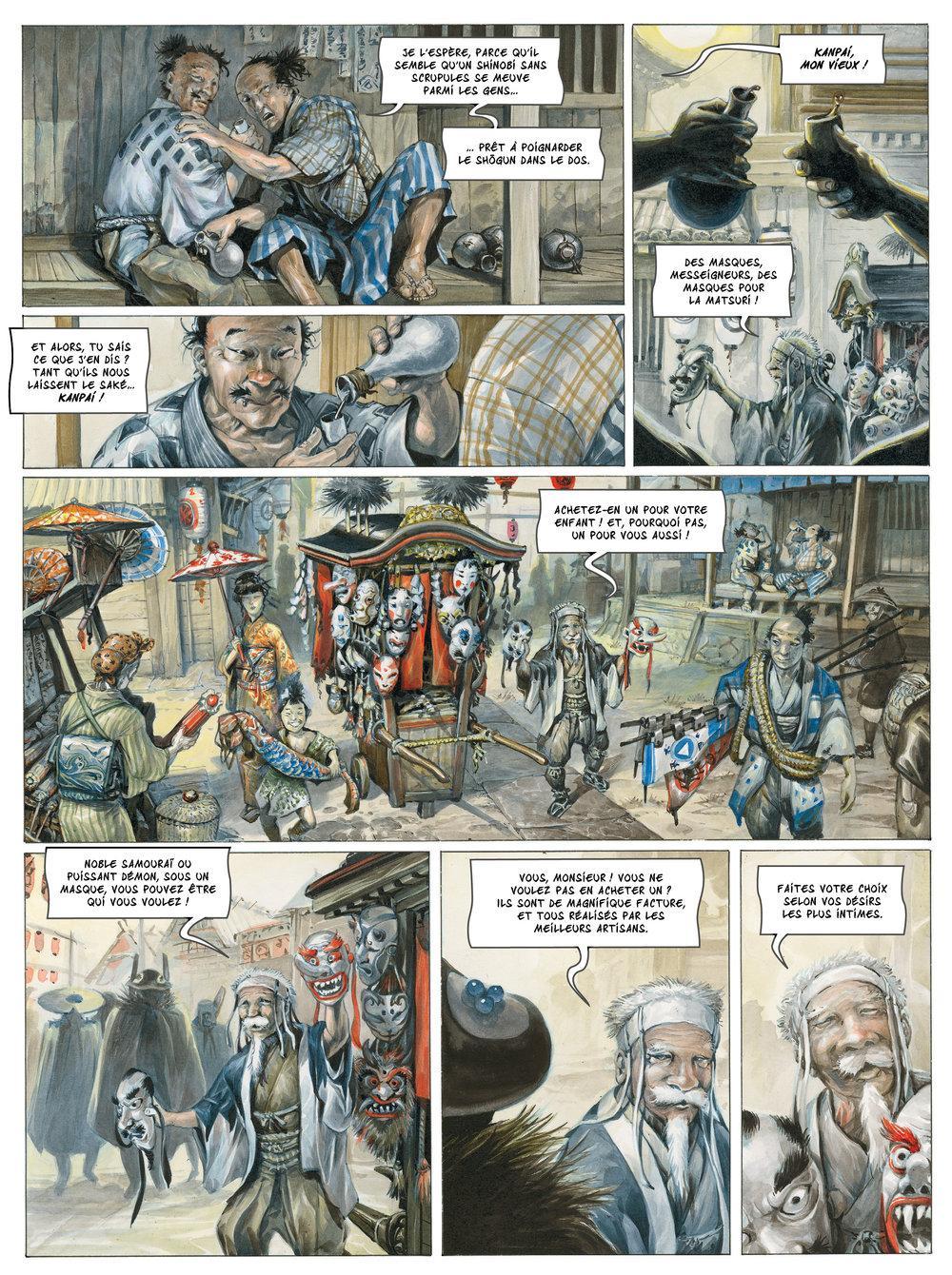 Extrait n°2 de la bd tome 1 par Saverio Tenuta