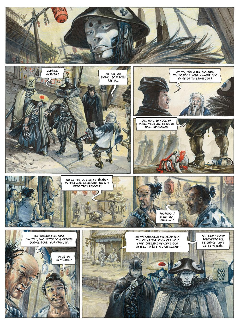 Extrait n°3 de la bd tome 1 par Saverio Tenuta