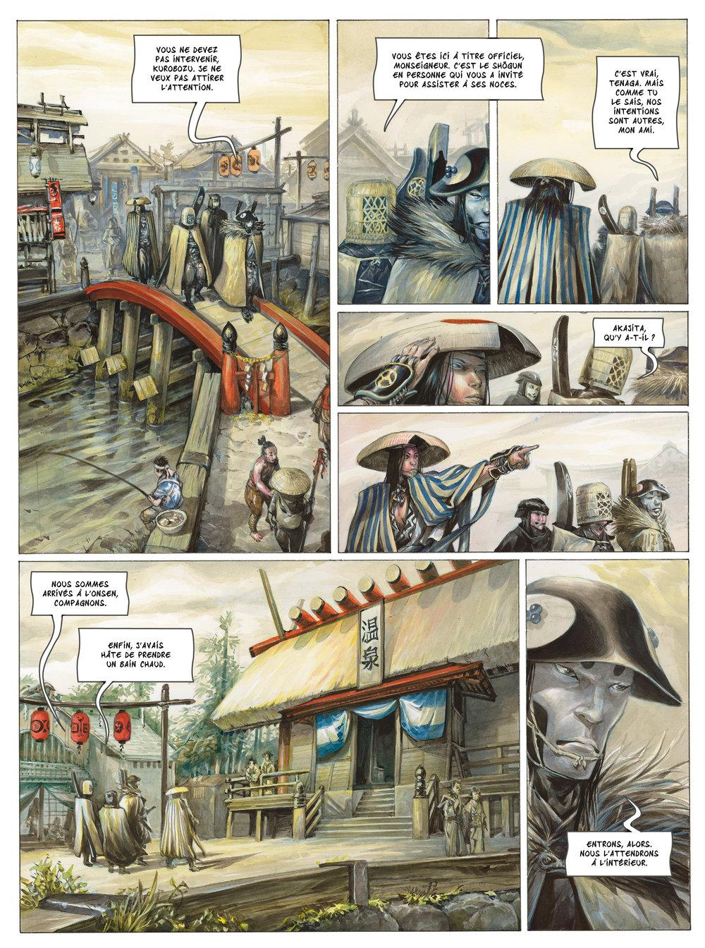 Extrait n°4 de la bd tome 1 par Saverio Tenuta
