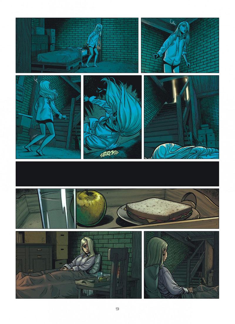 Extrait n°3 de la bd tome 1 par Mathieu Reynès