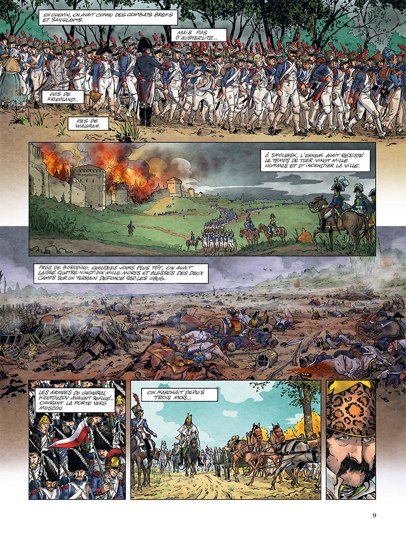 Extrait n°3 de la bd tome 1 par Ivan Gil