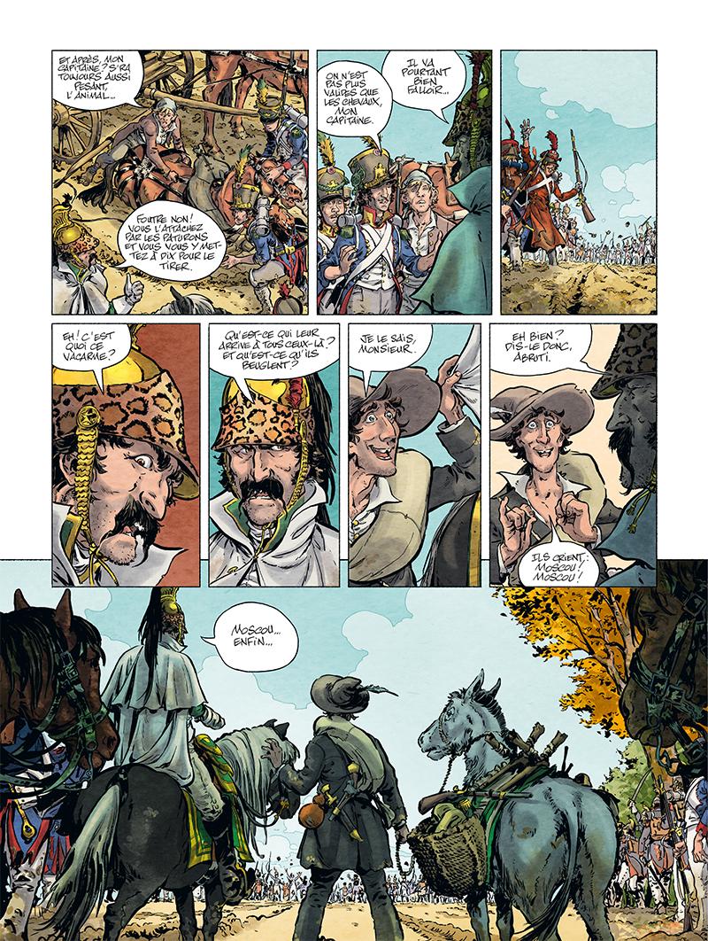 Extrait n°5 de la bd tome 1 par Ivan Gil