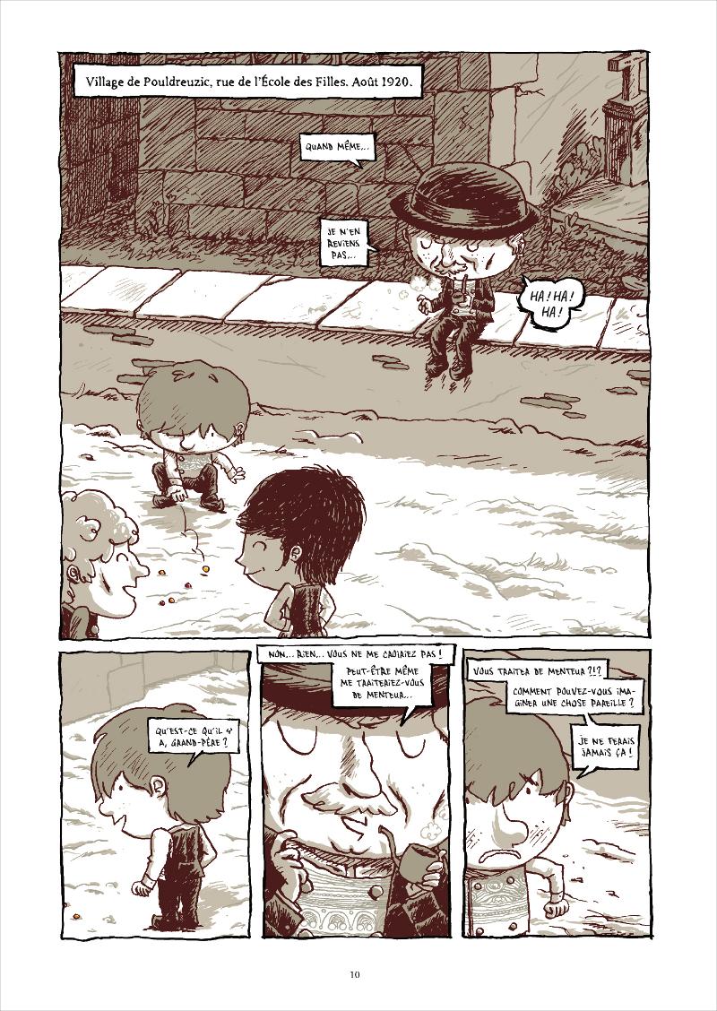 Extrait n°2 de la bd Le Cheval d'orgueil par Marc Lizano