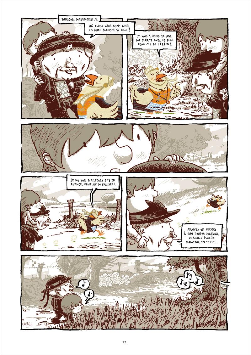 Extrait n°4 de la bd Le Cheval d'orgueil par Marc Lizano