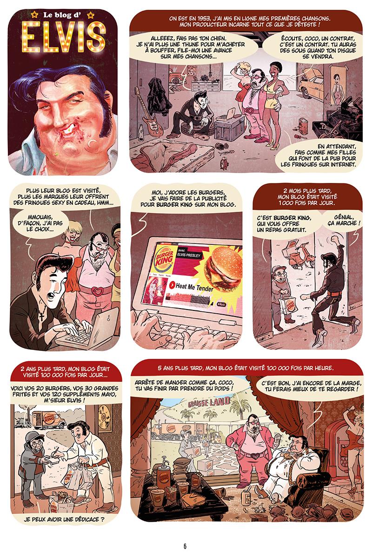 Extrait n°4 de la bd Ennemisdavant.com - Toutes les grandes figures du XXe siècle enfin sur le Net ! par Emmanuel Reuzé