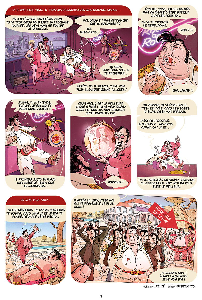 Extrait n°5 de la bd Ennemisdavant.com - Toutes les grandes figures du XXe siècle enfin sur le Net ! par Emmanuel Reuzé