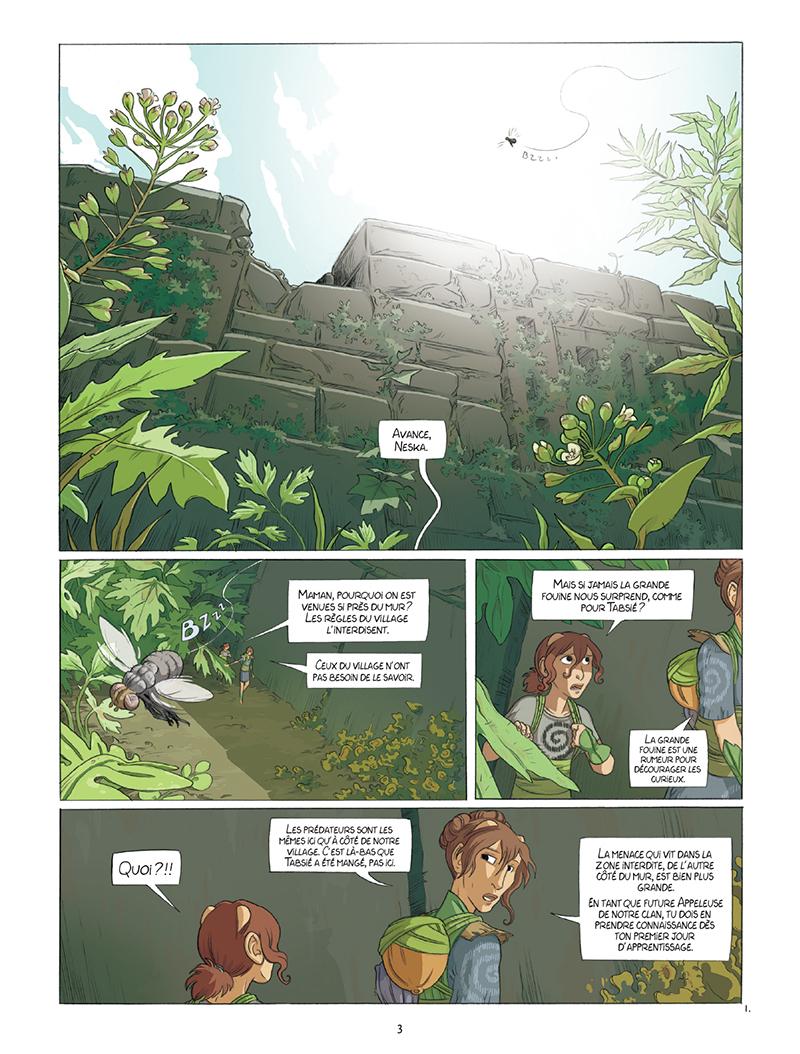 Extrait n°1 de la bd tome 1 par Louise Joor