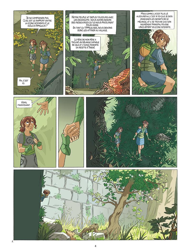 Extrait n°2 de la bd tome 1 par Louise Joor