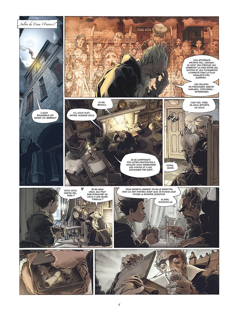 Extrait n°2 de la bd tome 1 par Juan-Luis Raule
