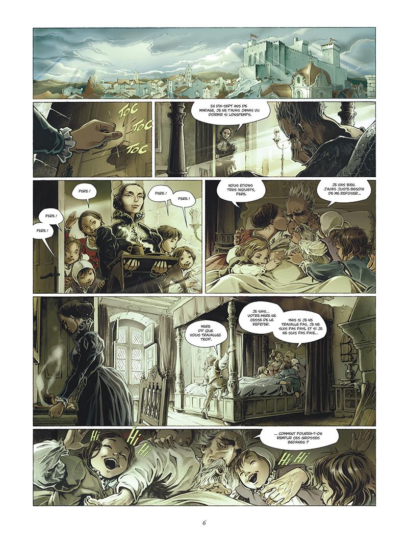 Extrait n°4 de la bd tome 1 par Juan-Luis Raule