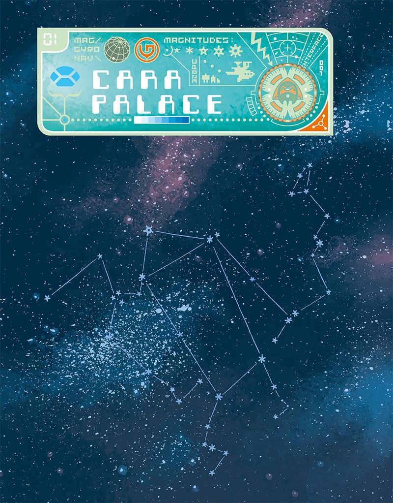 Extrait n°1 du comics Space Boulettes par Craig Thompson
