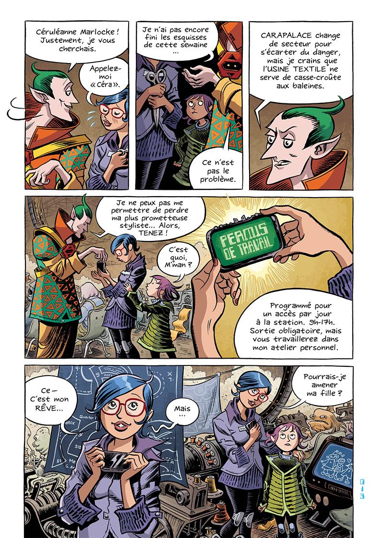 Extrait n°14 du comics Space Boulettes par Craig Thompson