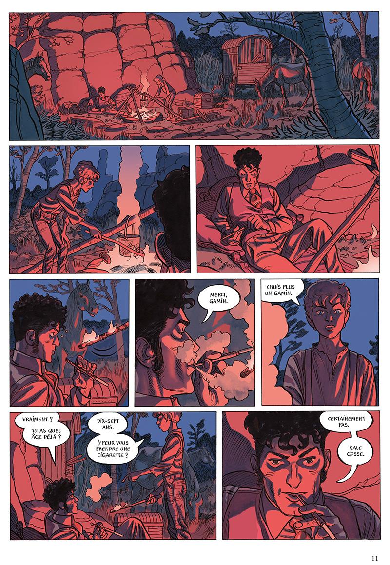Extrait n°7 de la bd L'Odeur des garçons affamés par Loo Hui Phang