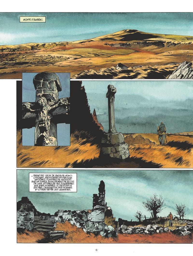 Extrait n°4 de la bd Les Tourbières noires par Christophe Bec