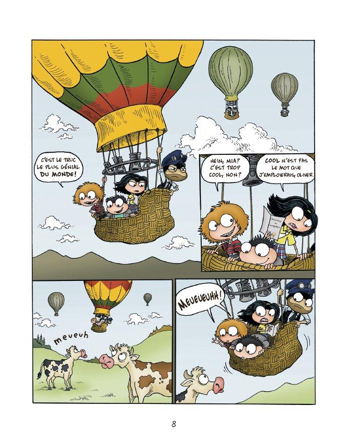 Extrait n°6 du comics tome 1 par Jack Chabert